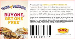 denny s tour of america bogo coupon