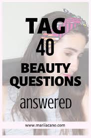 40 beauty questions makeup skincare