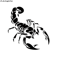 Langru Cute Scorpion Car Stickers Personality Funny Car Styling Vinyl Decal For Cars Acessories Decoration Jdm Decals For Cars Scorpion Car Stickersvinyl Decal Aliexpress