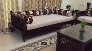 wooden sofa set traditional indian
