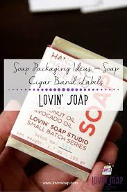 soap packaging ideas soap cigar band