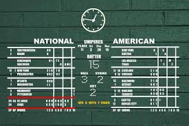 Chicago Cubs Wrigley Field Scoreboard Wall Decal Etsy