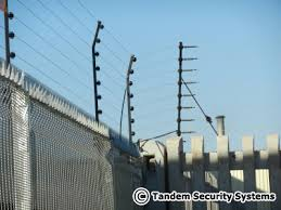 Wall Top Electric Fencing Security Electric Fences Tandem Security