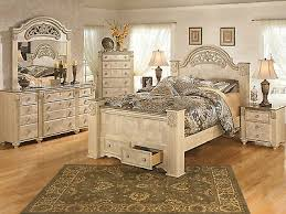 queen king poster storage bed