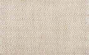 kiwa handwoven jute jagged chevron rug