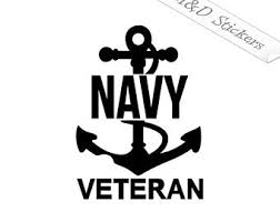 Us Navy Decal Etsy
