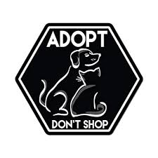 Dog Car Decal Cat Car Decal Sticker Adopt Rescue Dog Or Cat Decal