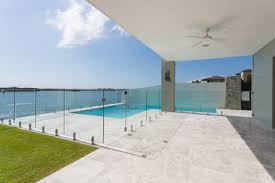 Glass Pool Fence Panels Stainless Latches And Spigots