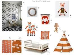 Fox Themed Kids Room Http Luluandpapaya Blogspot Com Themed Kids Room Kids Room New Baby Products
