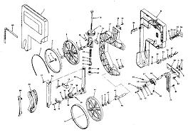 Craftsman 113247210 Band Saw Parts Sears Partsdirect