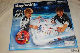 playmobil nhl hockey arena nhl team