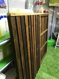 G G Hand Made Double Sided Closeboard Fence Panel 4ft
