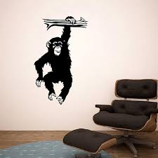 Monkey Business Chimp Vinyl Wall Decal Decal The Walls