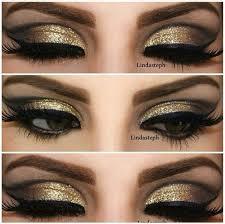 eye makeup for gold dress 2020 ideas