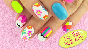 step nail art designs without tools