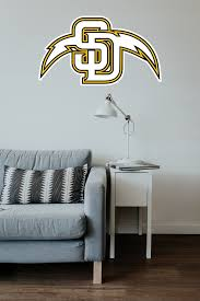 San Diego Padres Chargers Mash Up Vinyl Decal Sticker 10 Sizes Sportz For Less
