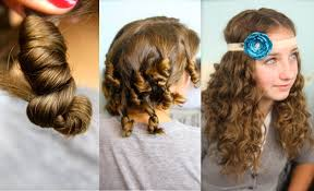 co curls no heat curl hairstyles
