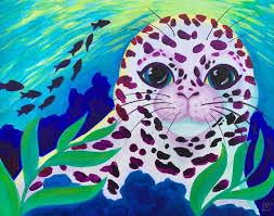 Lisa Frank Fan Art Original Painting 8x10 On Illustration Etsy