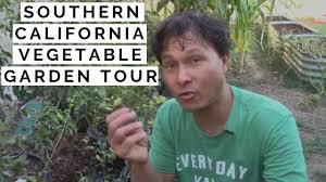 organic vegetable garden tour