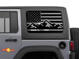 Jeep Wrangler Rubicon Hardtop Windshield Decal Jku Jlu 2007 2019 Or Tacoma 4runner Tundra Subaru Charger Challenger