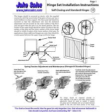 Self Closing Vinyl Gate Hinges White For Vinyl Pvc And Plastic Fencing Vinyl Fence Gate Hinges W Mounting Hardware