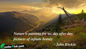 quotes about painting nature quotes