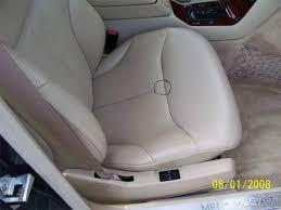 leather seat repair advice