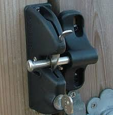 lockable gate latch jacksons fencing