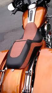 custom motorcycle seat upholstery