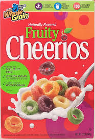 bevaris alliance fruity cheerios