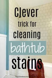 how to clean a fibergl bathtub