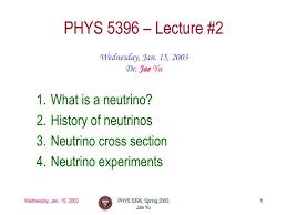 PPT - PHYS 5396 – Lecture #2 PowerPoint Presentation, free download -  ID:1787983