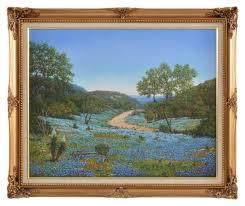 Texas Landscape Oil Painting by Wanda Johnson