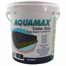 Aquamax Timber Stain Water Based Linseed Oil Timber Fences Mitre 10