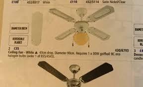 ceiling fan light sold in stowmarket
