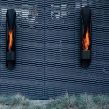 outdoor bioethanol fireplace by