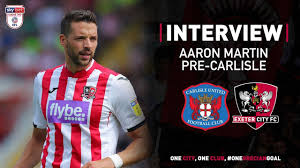 Aaron Martin pre-Carlisle United | Exeter City Football Club - YouTube