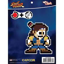 Street Fighter 8 Bit T Hawk Car Sticker Decal Decalcomania
