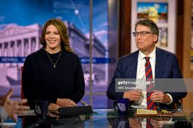 Kasie Hunt, NBC News Capitol Hill Correspondent, and Pat McCrory... News  Photo - Getty Images