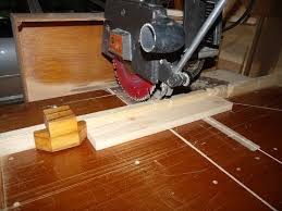 Making Stop Blocks For The Radial Arm Saw Youtube