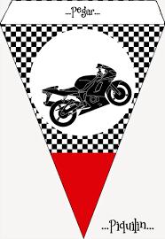Kit Imprimible Motocross Gratis Fiestas De Cumpleanos De Moto