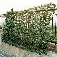 Costway 59 In X 118 In Faux Ivy Leaf Decorative Privacy Fence Screen Artificial Hedge Fencing Gt3048 The Home Depot