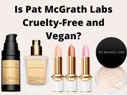 pat mcgrath labs free and vegan