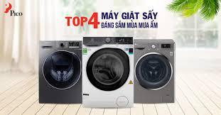 Top 4 máy giặt - sấy đáng sắm trong mùa thu đông 2019