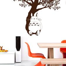 Tree Under The Totoro Wall Sticker Sale Price Reviews Gearbest