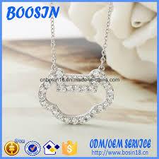 custom silver lock pendant necklace
