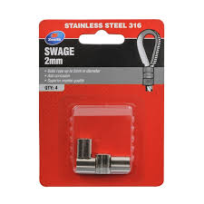 Zenith 2mm Stainless Steel Swage 4 Pack Bunnings Warehouse