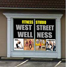 Entry 4 By Alam1984 For Window Decal For Fitness Studio Freelancer