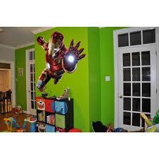 Shop Full Color Superheroes Iron Man Sticker Iron Man Decal Wall Art Decal Sticker Decal Size 22x30 Overstock 13998523