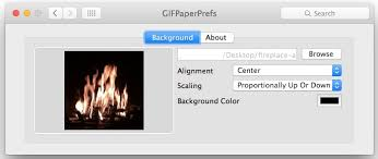 animated gif as wallpaper in mac os x